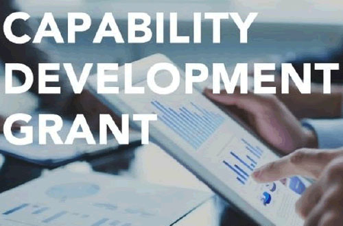 Capability Development Grant (CDG) [Expired]