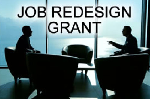 Job Redesign Grant [Expired]